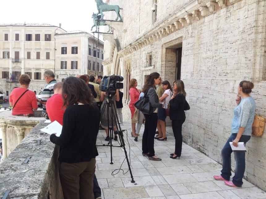 Conferenza stampa di presentazione della fondazione GeBiSa