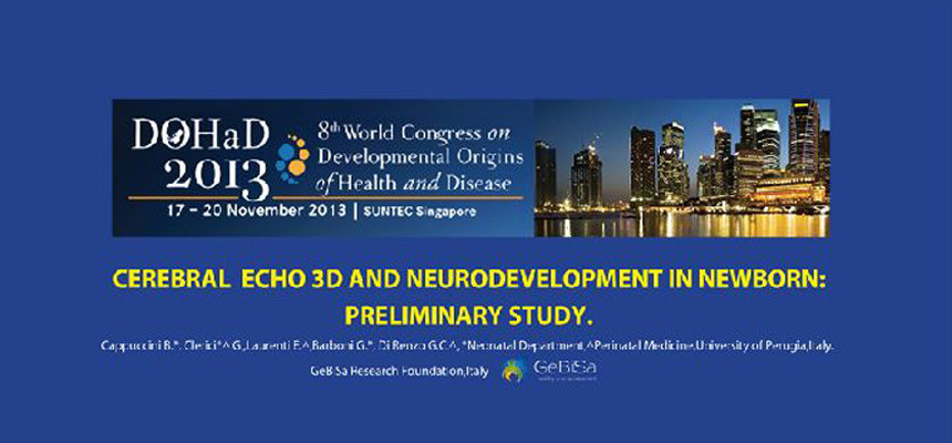 8th world congress DOHAD Singapore